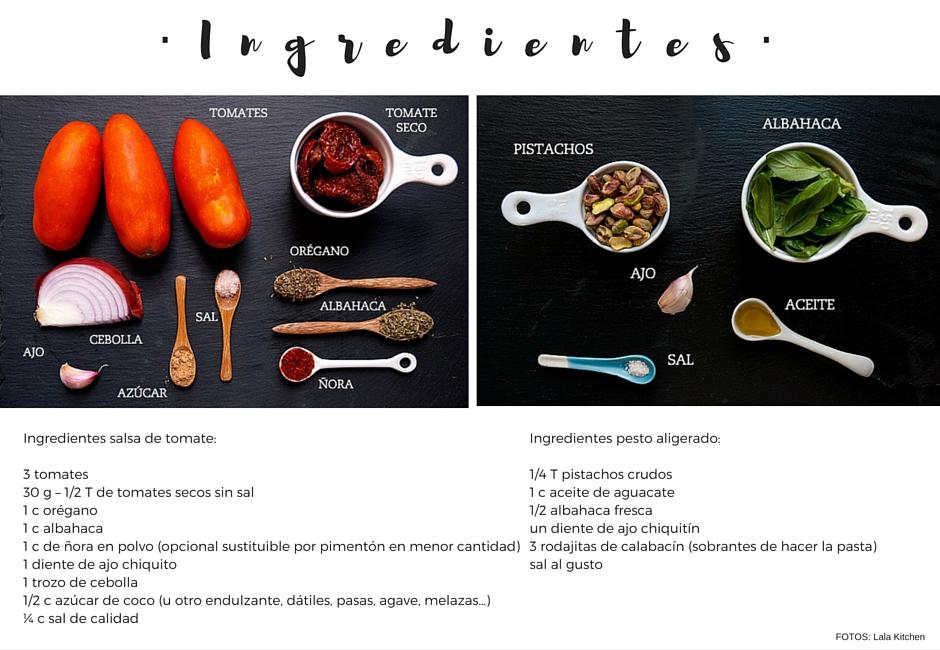 courguetti al pesto