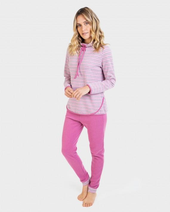 Pijama de dona màniga llarga i pantalons llargs