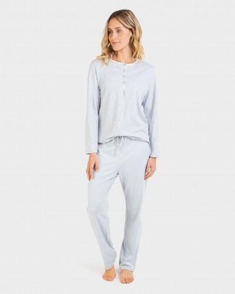 Pijama de mujer |TALLAS GRANDES| 100% algodón