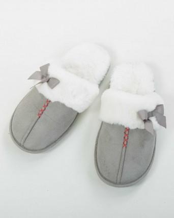 Zapatillas mujer gris