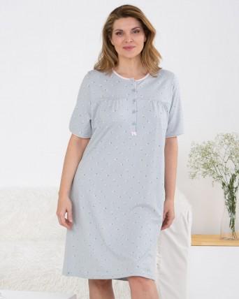 Camisón de mujer |TALLAS GRANDES| 100% algodón