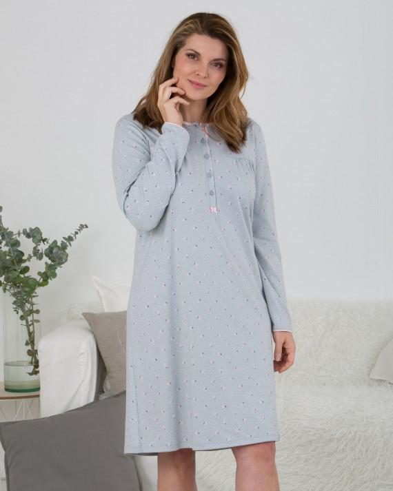 Camisón de mujer - TALLAS GRANDES - 100% algodón