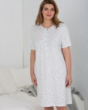 Camisa de dormir de dona - TALLES GRANS - 100% cotó