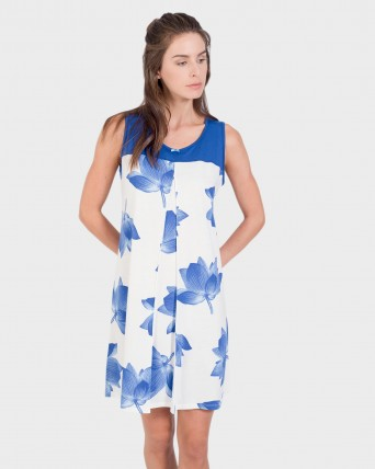 CAMISOLA MUJER FLORAL