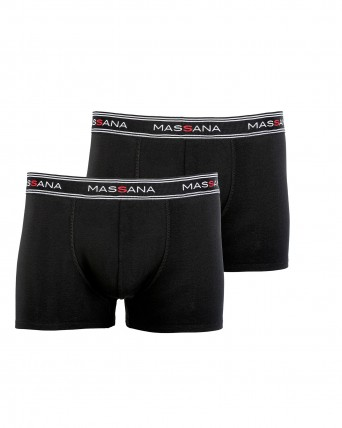 PACK 2 BOXERS HOME NEGRE