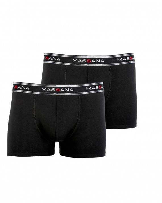PACK 2 BOXERS HOMBRE NEGRO