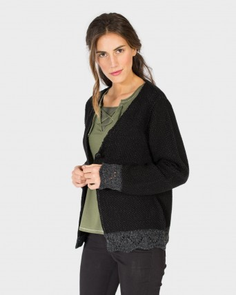 CHAQUETA MUJER TRICOT