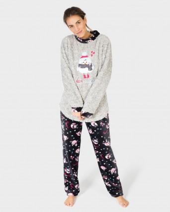 751129162 Pijamas de polar para mujer - CENTRO TEXTIL MASSANA S.L.
