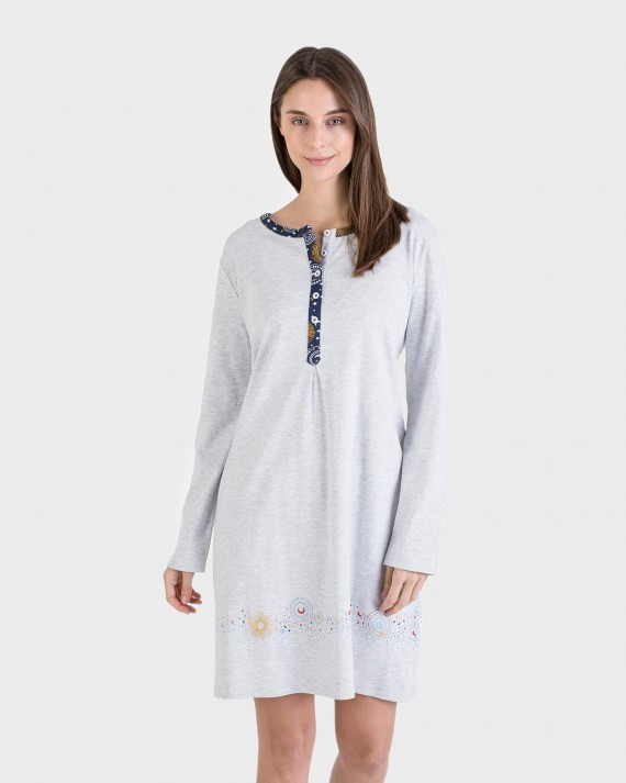 CAMISOLA MUJER GRIS