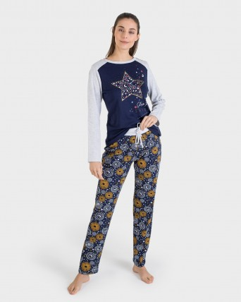 PIJAMA MUJER SHINE