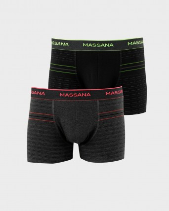 PACK 2 BOXER HOME FLUORESCENT