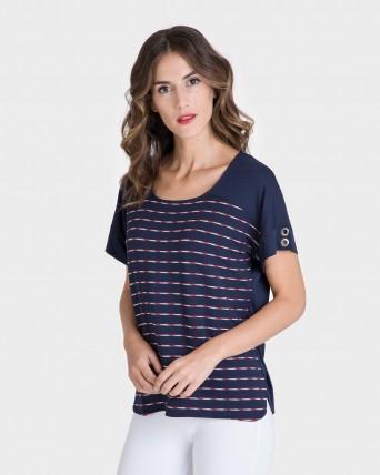 Blusa de mujer marinera