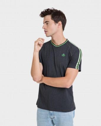 Camiseta de hombre vigoré de manga corta