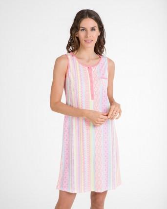 Camisola de dona fluorescent sense mànigues