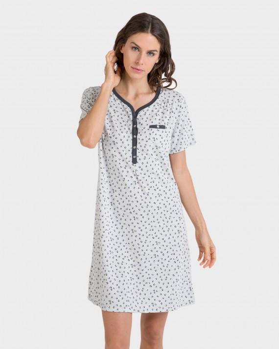 Camisoa de dona màniga curta i butxaca