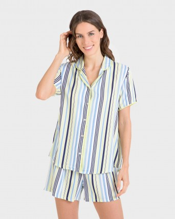 Pijama de mujer tipo mascullino