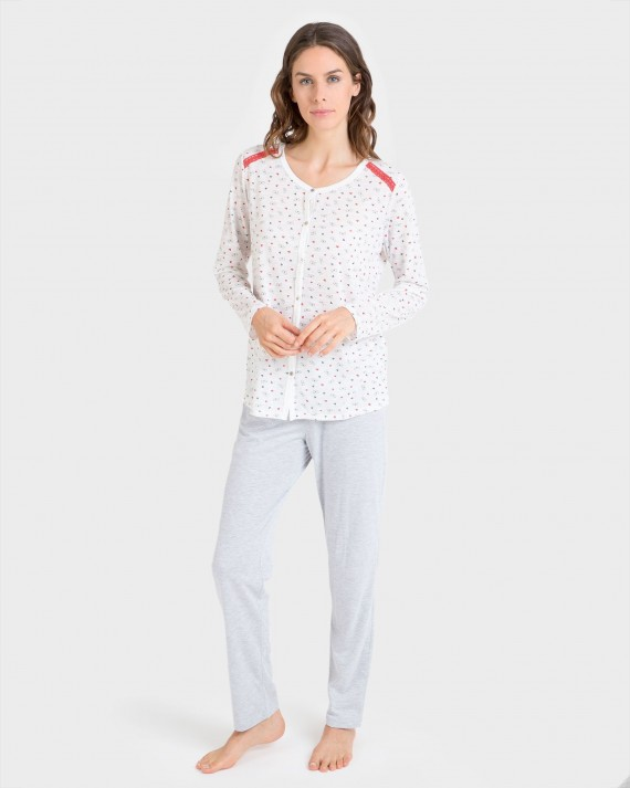 Pijama de mujer largo