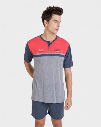 Pijama d'home pantalons curts