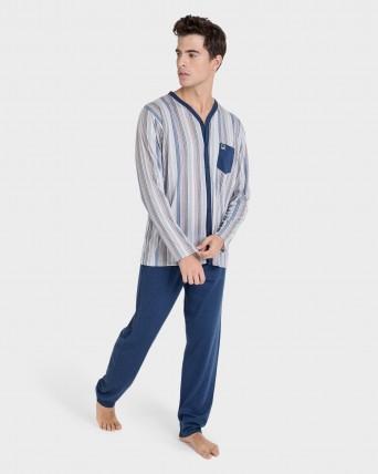 Pijama de hombre largo