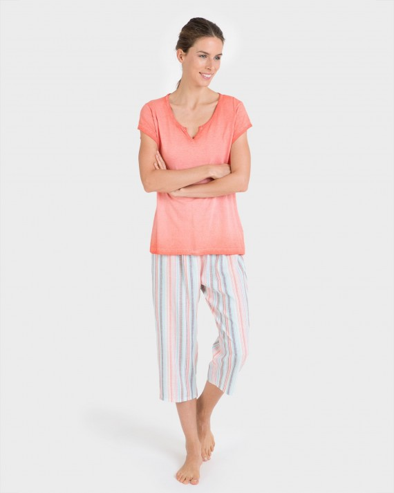 Pantalons de dona mix and match pirata