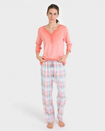 Pantalons de dona mix and match llarg