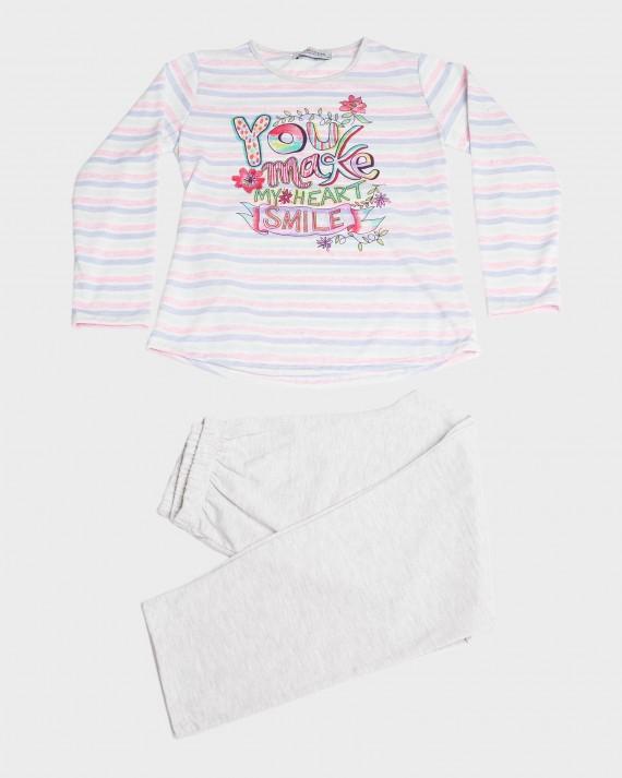 Pijama nena màniga llarga i pantalons llargs