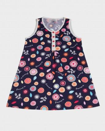 Camisola niña 100% algodón sin mangas