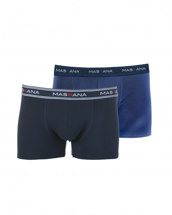 PACK 2 BOXERS HOME A BLAUS