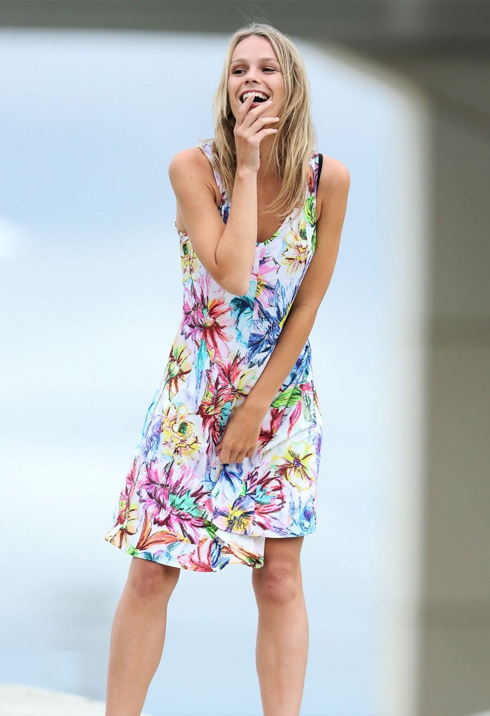vestit flors