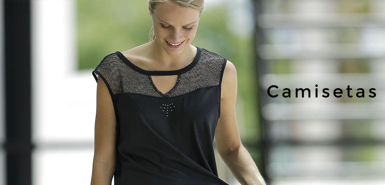 Camisetas Massana para mujer